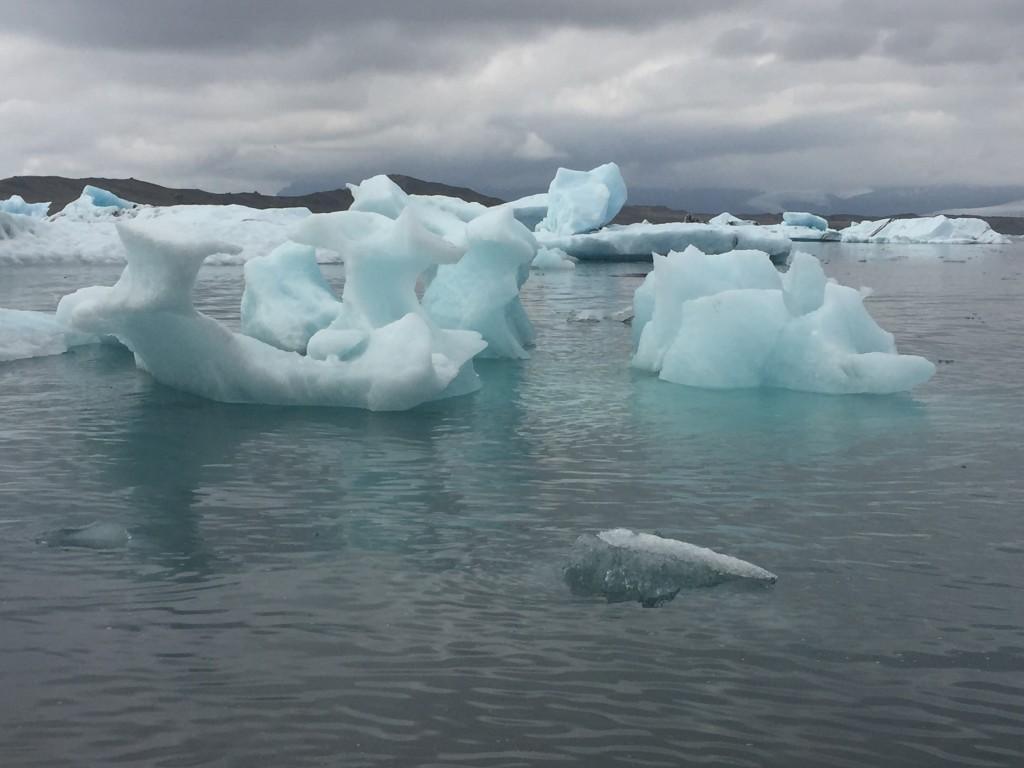Jokulsarlon Glacier Lagoon Iceland photo by Risa Dickens