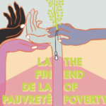 end of poverty poster close up