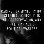 Audre Lorde.