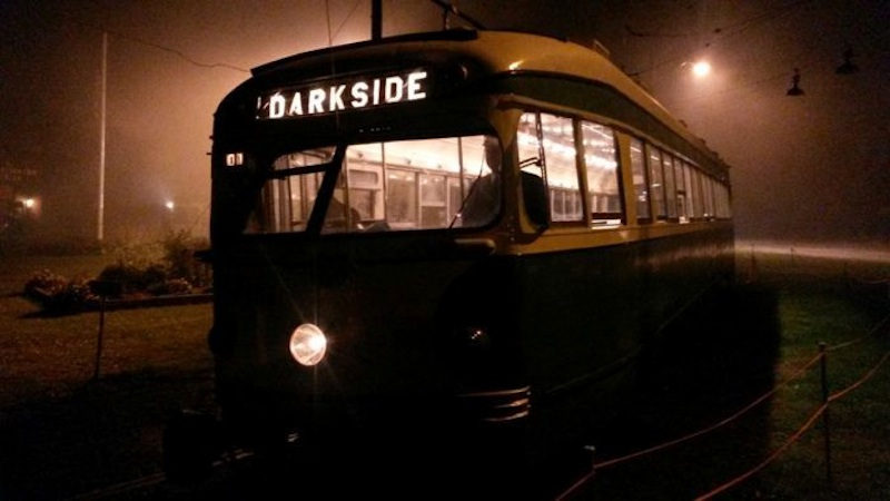 Sante Fe Ghost Tour Trolley