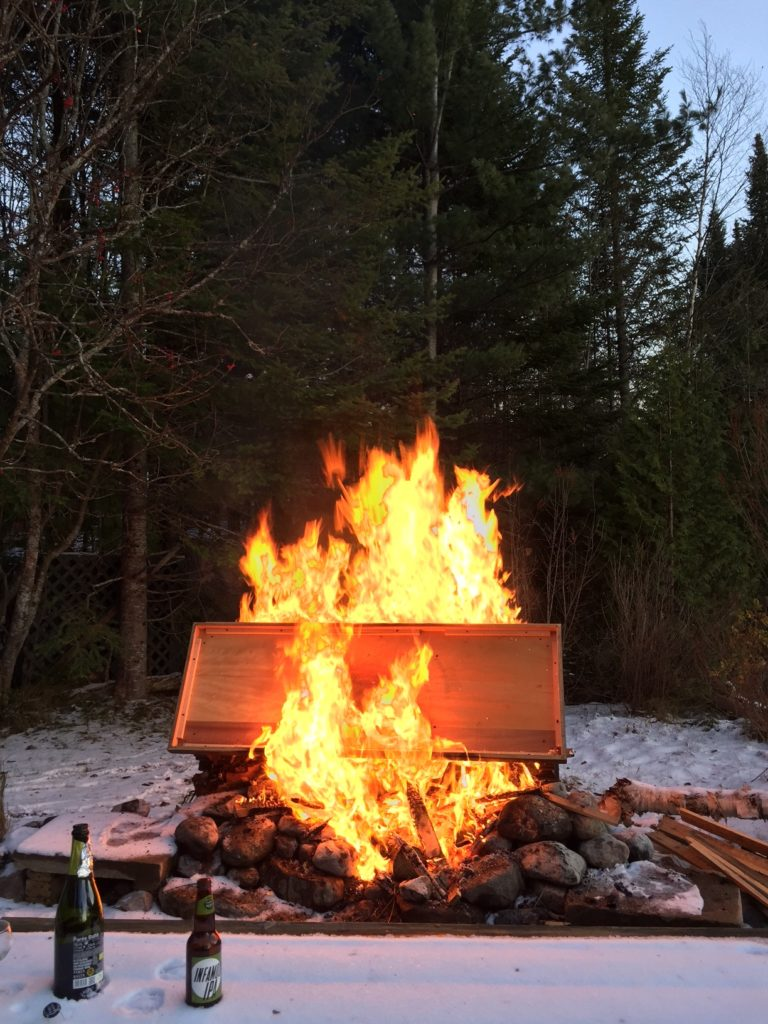 Ceremonial Garbage Fire