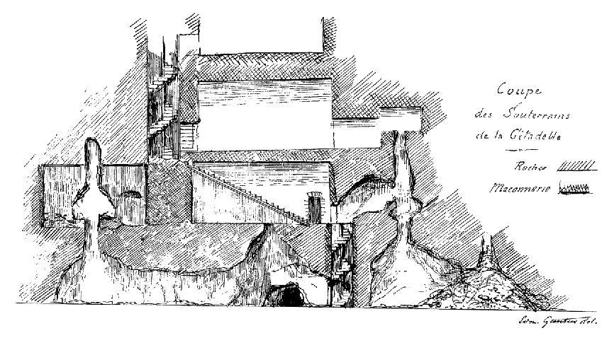Oubliettes du château de Loches.
